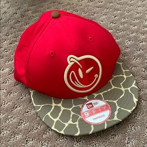 New Era 9Fifty Red SnapBack Hat